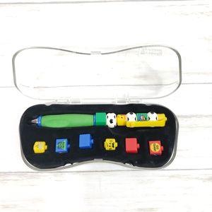 Legos Soccer Themed Brick Pen